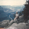 Diane at Mohave Point - Grand Canyon
