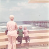 Aunt Dottie, Kenny, David - Ocean panama City beach Pier