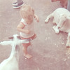 Kenny With Goats - Six Flags