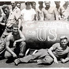 Junior is the one lying down right in front.<br /> World War II