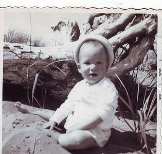 Scott as a baby.