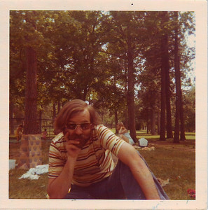 My dad. I can't remember what park this is. Anyone? In Spokane?