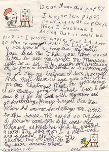 Envelope says :Mrs and Mr Ben Howell, 405 Jeorge St., Saint George, SC, 29477. Postmarked October 26th, 1976 from Tucson AZ.  Stamp is 13 cents!