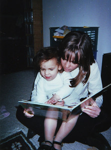 Me and my neice Charlotte in PA.  A long time ago!