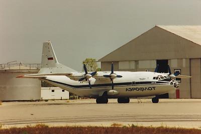 Antonov 12 RA-11526 on 2nd July 1993