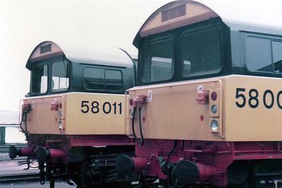 58011 & 58008 Toton (TO).