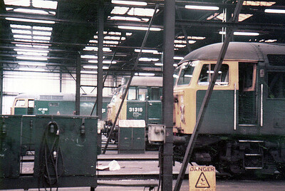 47358 & 31315 inside Toton (TO).
