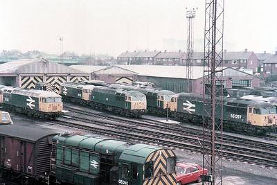 08243 and 56097 among others at Knottingley (KY).