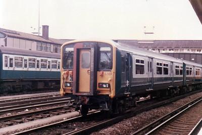 455/7 5702 in Clapham Yard  21/09/84.