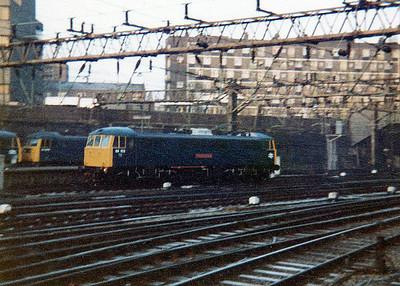 86102 'Robert A Riddles' at Euston.