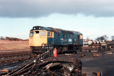 Next for the chop is 27021 at Thornton Junction.