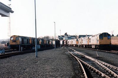Thornton Junction line up.