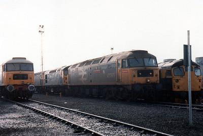 47363 'Billingham Enterprise' stabled at Millerhill Depot.