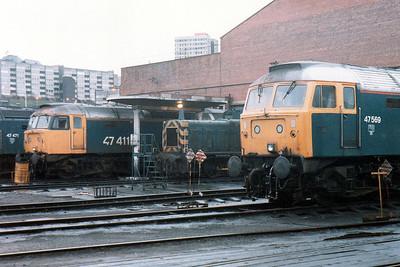 47411 47569 Gateshead Depot.