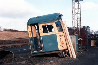Cut up 26/27 cab Thornton Junction.
