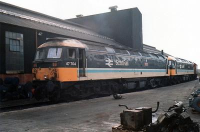 47704 'Dunedin' Haymarket Depot.