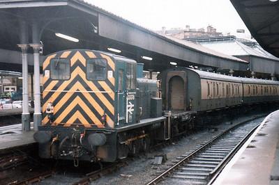 03078 shunting stock at Newcastle.