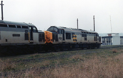 37887 at Barry stabling point.