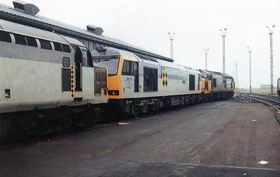 60079 'Foinaven' at Margam TMD.