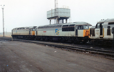 56040 'Oystermouth' with 47197 and 37896 at Margam TMD.