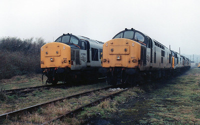 37899 and 37897 at Barry stabling point.