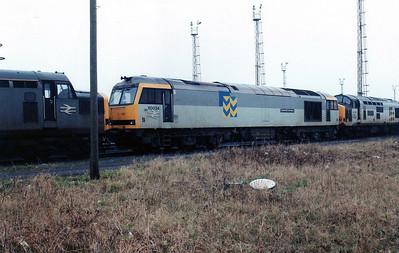 60034 'Carnedd Llewlyn' sits on Margam TMD.