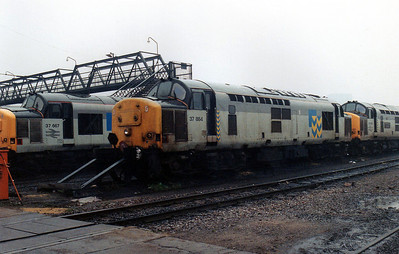 37884 at Cardiff Canton TMD.