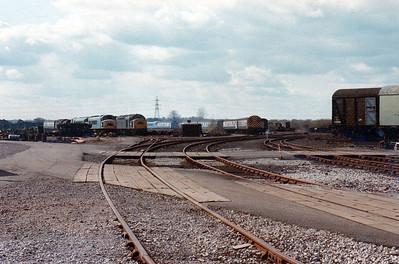 Swindon Works Yard view.