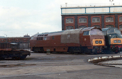 D1015 & D818 on the Works turntable.