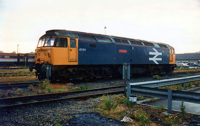 47971 'Robin Hood' on Derby Etches Park.