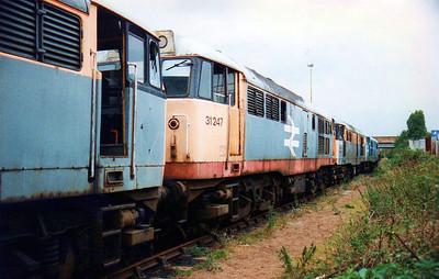 31247 Toton New Yard scrap line.