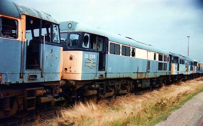 31135 Toton New Yard scrap line.