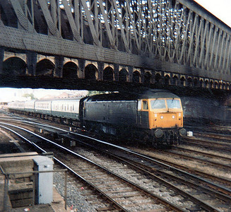 Another UID Class 47 heads south with an express.