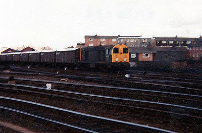 20076 heads south with a speedlink working to Drigg House Yard.
