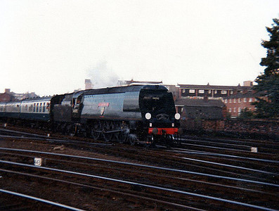 Steam 34092 'City of Wells' heads south on a charter.
