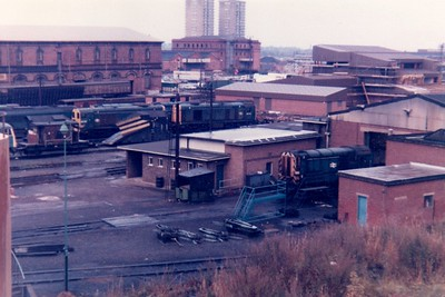 Leicester Depot View.