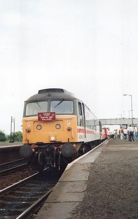 47819 seen at Barnetby on 1Z31 Kings Cross - Immingham 'Castor & Pollocks' Railtour  26/06/93