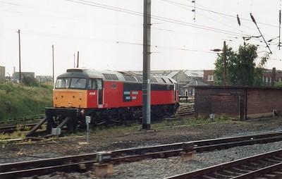 47618 seen at Doncaster BREL Works  26/06/93