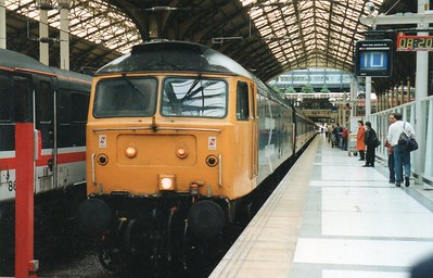 47513 stands at Liverpool Street on 'The Pheasant Plucker' Railtour 1Z37 Liverpool Street - Norwich  03/06/95