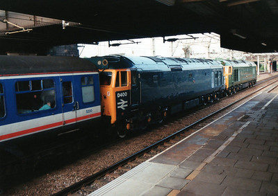 50007_D400 await departure from Nuneaton back to Waterloo.