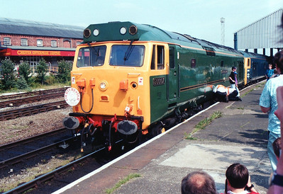 50007_D400 at their destination of Chester.