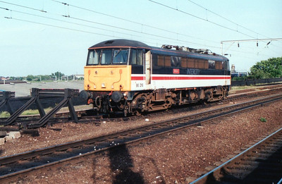 86216 stabled at Wolverhampton.