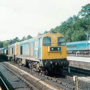 20 3XX at Buxton on 7th September 1986