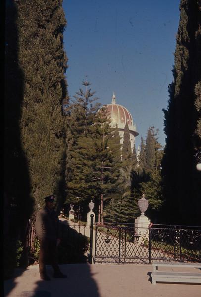 1971 Mt Carmel - Shrine of the Bab