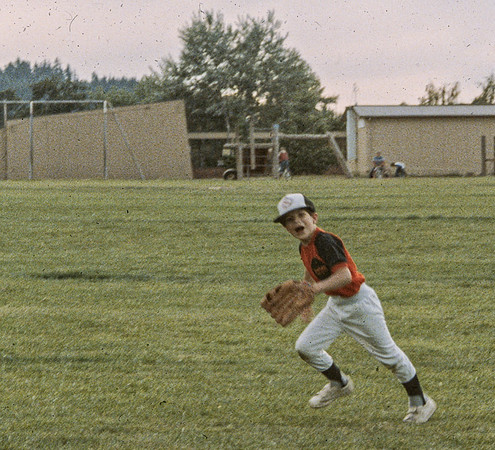 1985-05 Brian's 9th birthday and baseball game