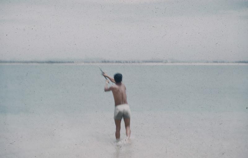 1960-06 Beach scene in Mexico - 2