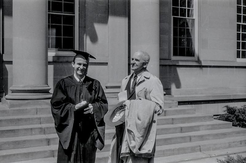 1957 Ripon College  -  Ripon, WI - David Baral's graduation - 9