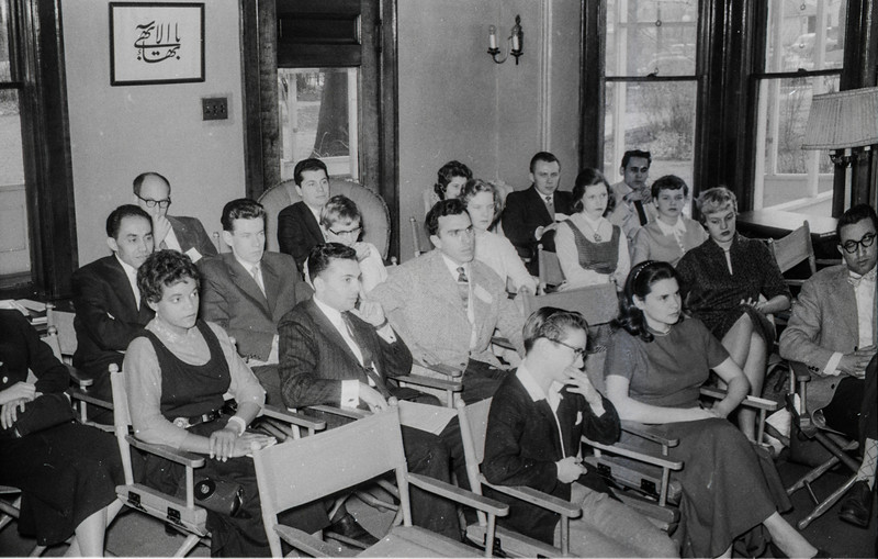 1957 Baha'i meeting possibly in Kenosha WI