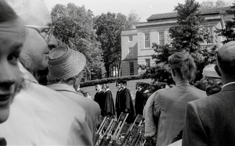 1957 Ripon College  -  Ripon, WI - David Baral's graduation - 4