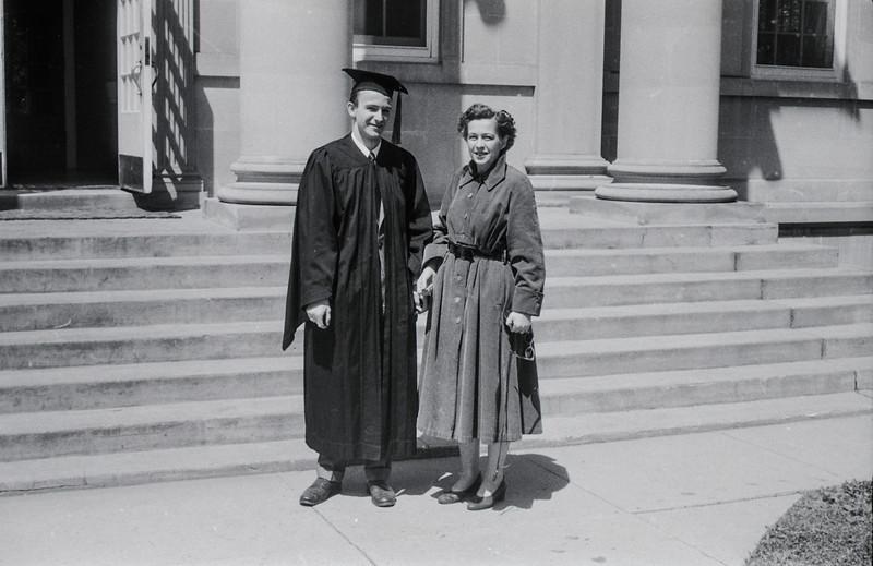 1957 Ripon College  -  Ripon, WI - David Baral's graduation - 7